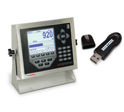 RICE LAKE 920i® USB PROGRAMMABLE INDICATOR CONTROLLER
