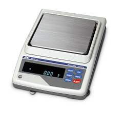 AND GX SERIES PRECISION BALANCES